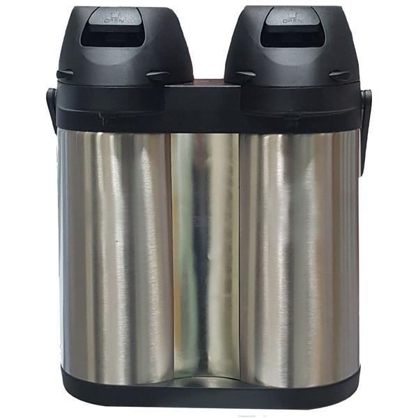 فلاسک دوقلو آکیلیس مدل 380 ظرفیت 3.8 لیتر