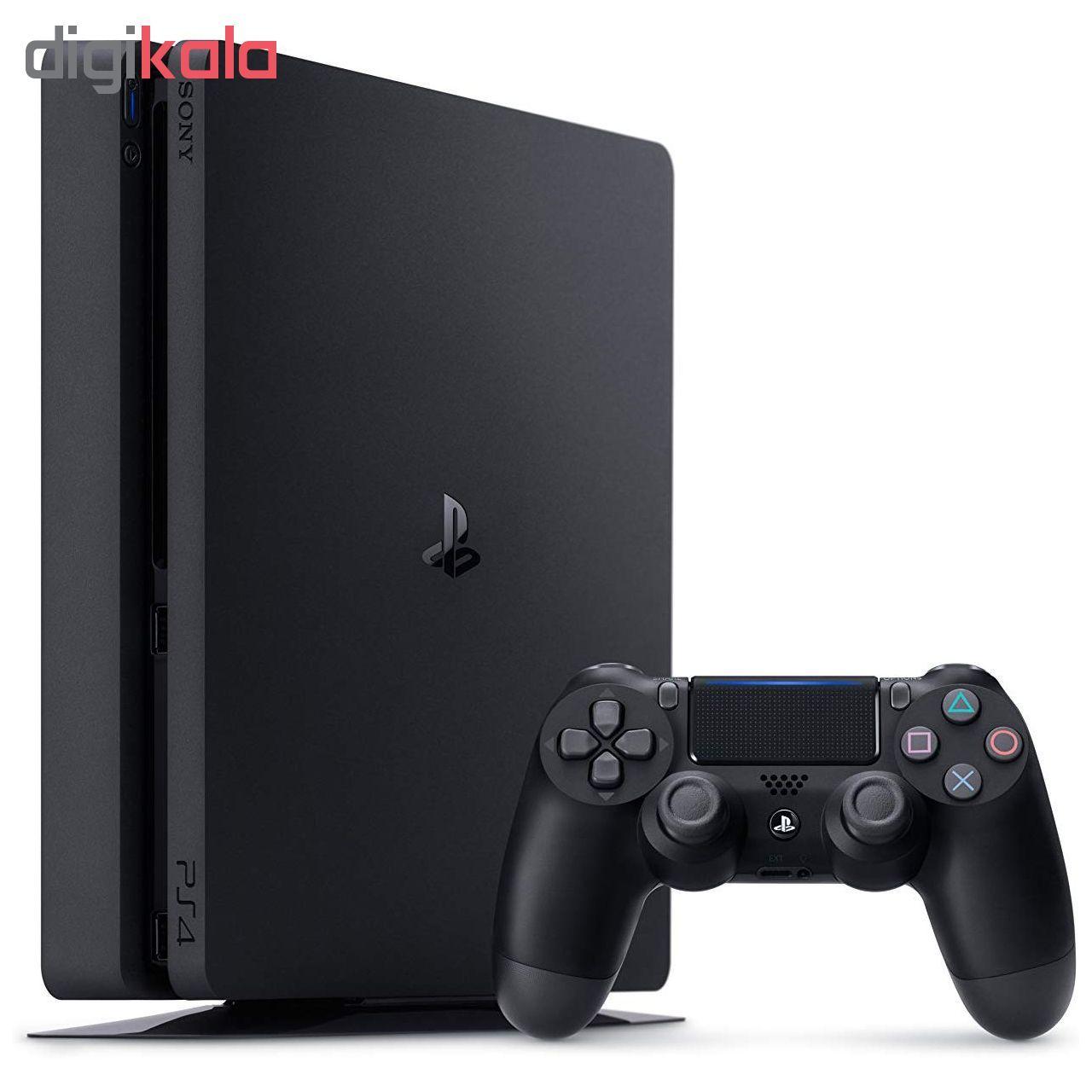 کنسول بازی سونی مدل Playstation 4 Slim کد Region 2 CUH-2216A ظرفیت 500 گیگابایت main 1 1