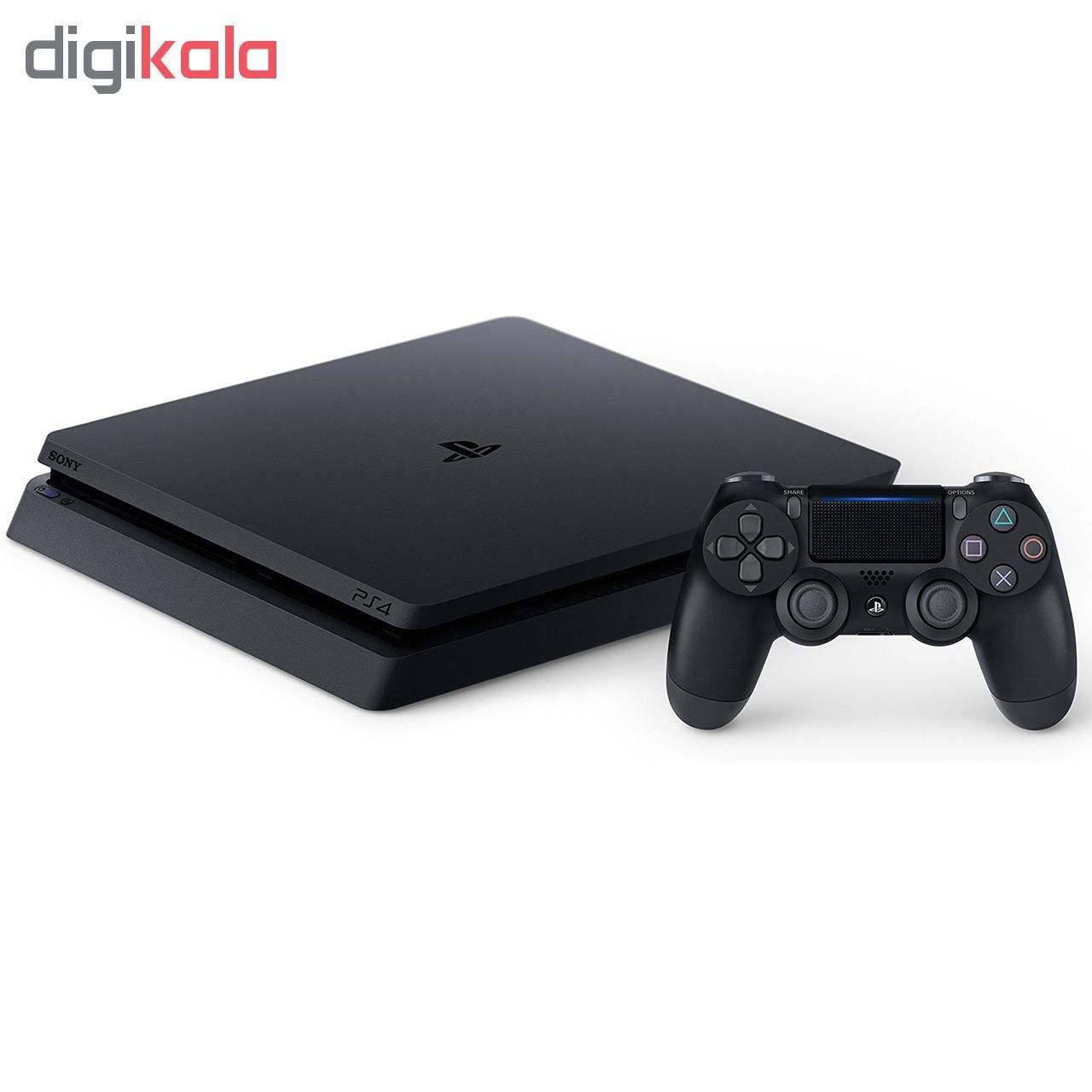 کنسول بازی سونی مدل Playstation 4 Slim کد Region 2 CUH-2216A ظرفیت 500 گیگابایت main 1 2