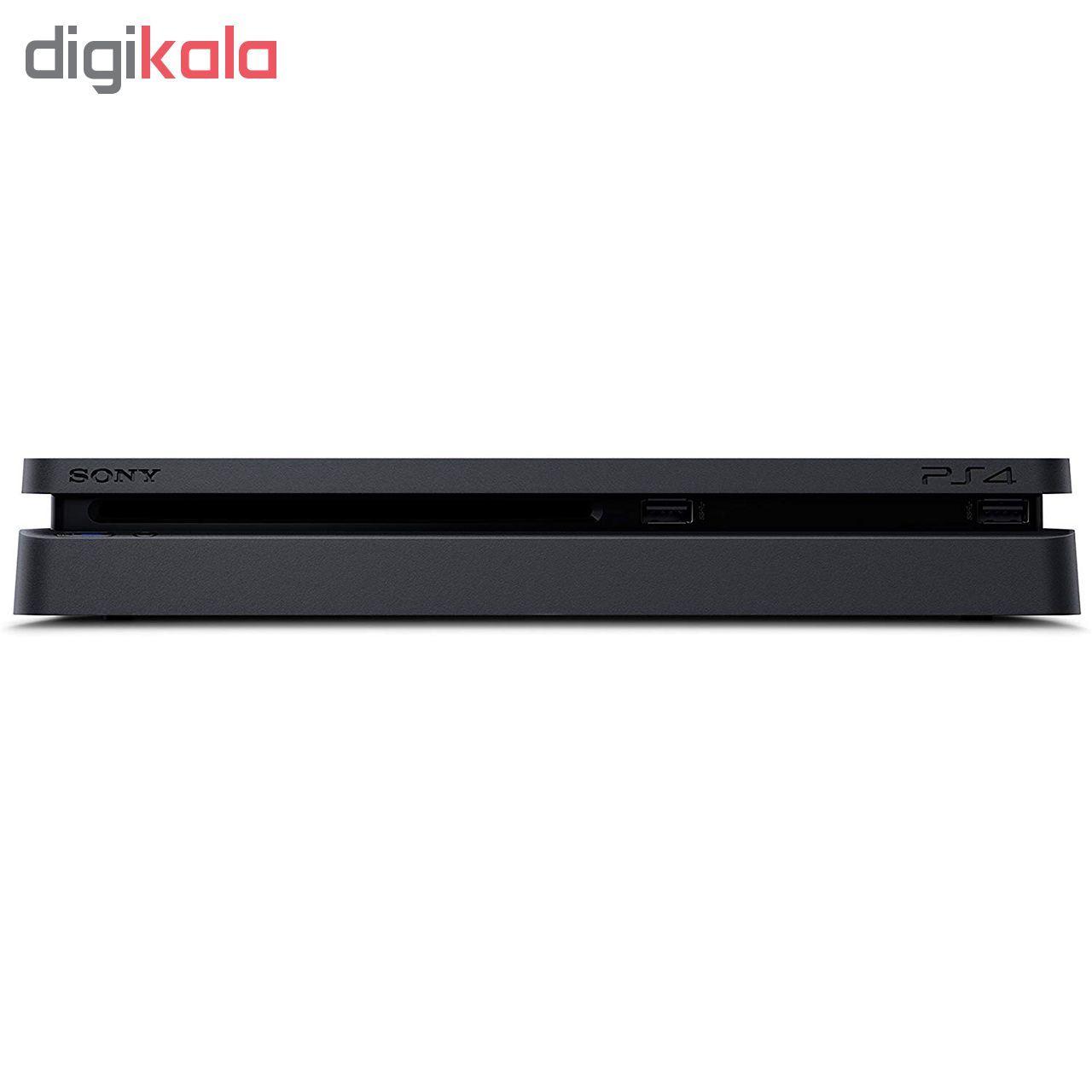 کنسول بازی سونی مدل Playstation 4 Slim کد Region 2 CUH-2216A ظرفیت 500 گیگابایت main 1 3
