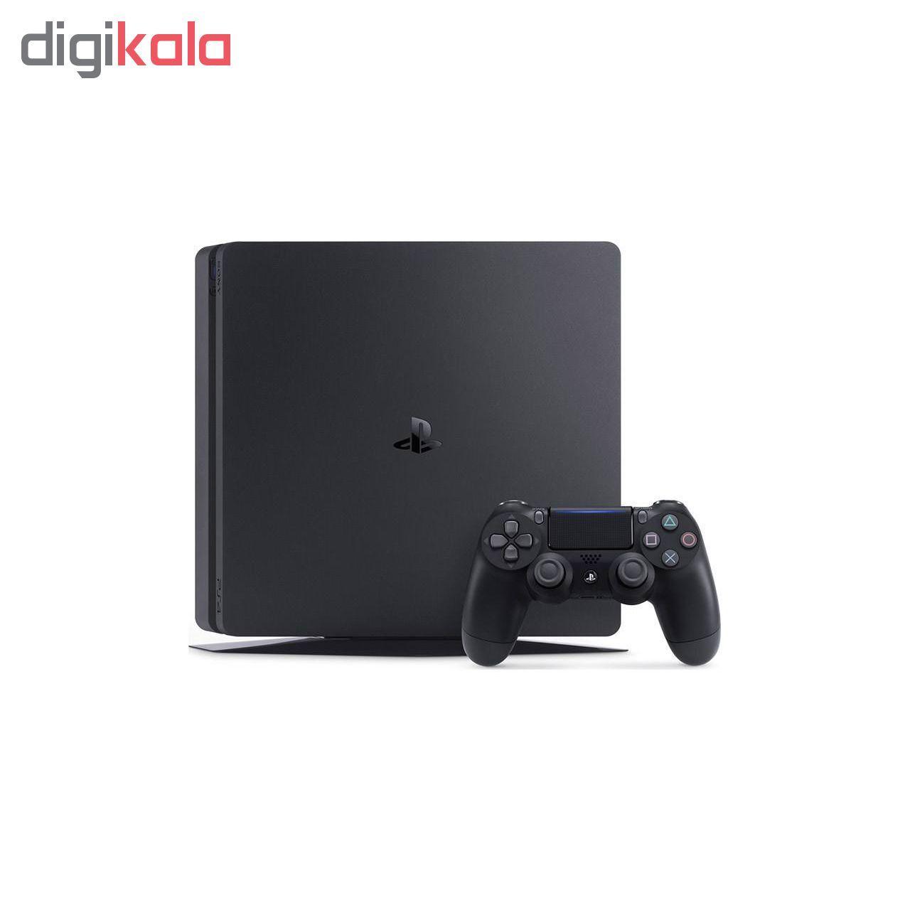 کنسول بازی سونی مدل Playstation 4 Slim کد Region 2 CUH-2216A ظرفیت 500 گیگابایت main 1 4