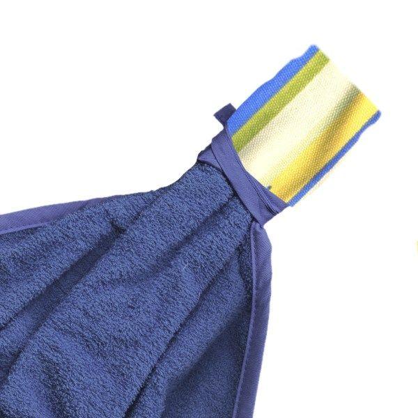 حوله آشپزخانه رزین تاژ طرح رابید آبی سایز 55 × 38