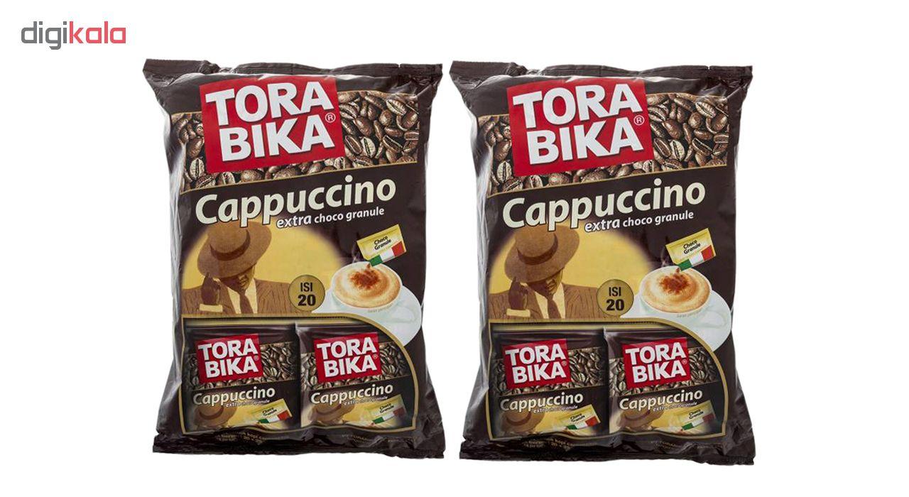 کاپوچینو ترابیکا مدل Cappuccino بسته 40 عددی