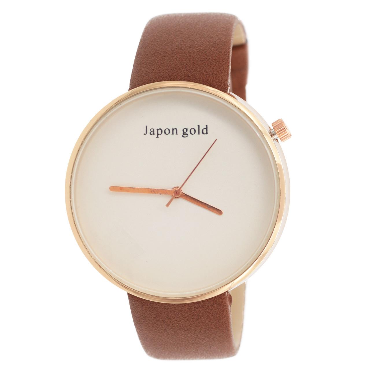 ساعت مچی عقربه ای ژاپن گلد مدل JG1765