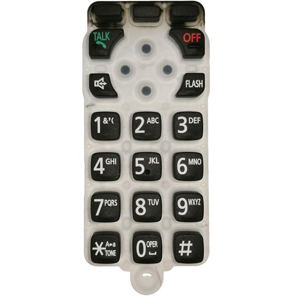 صفحه کلید یدکی مدل 6671 مناسب برای تلفن پاناسونیک