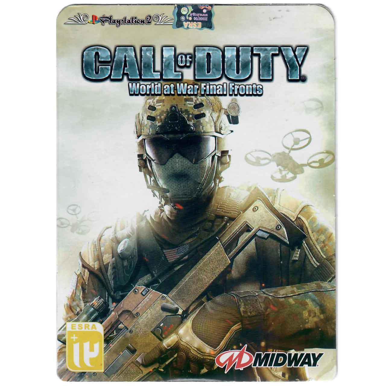 بازی Call Of Duty World At War Final Fronts مخصوص  PS2
