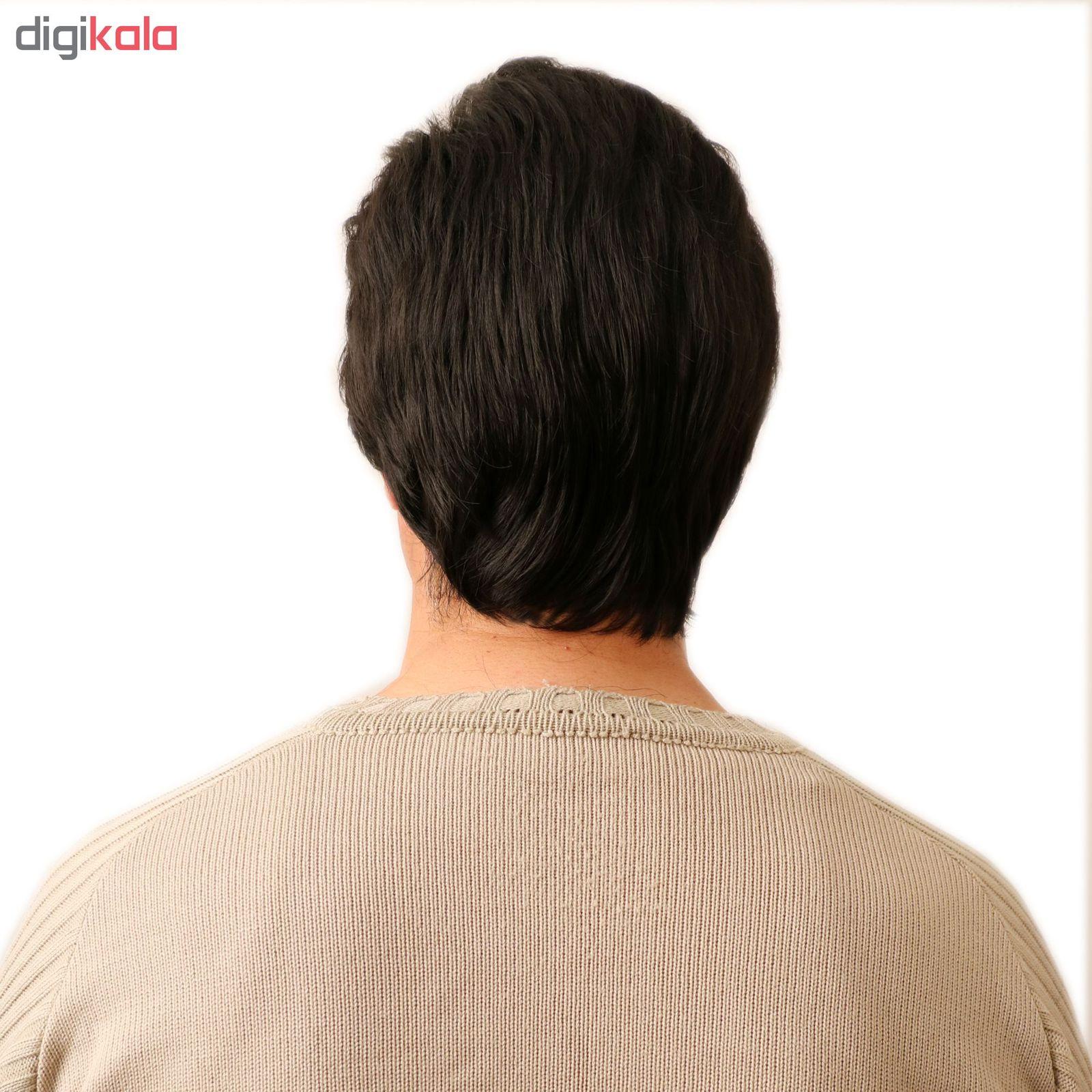 کلاه گیس مردانه حرارت پذیر کد sxno929-4 main 1 3