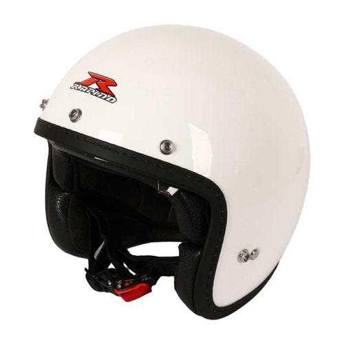 کلاه کاسکت راپیدو مدل 859-white XL