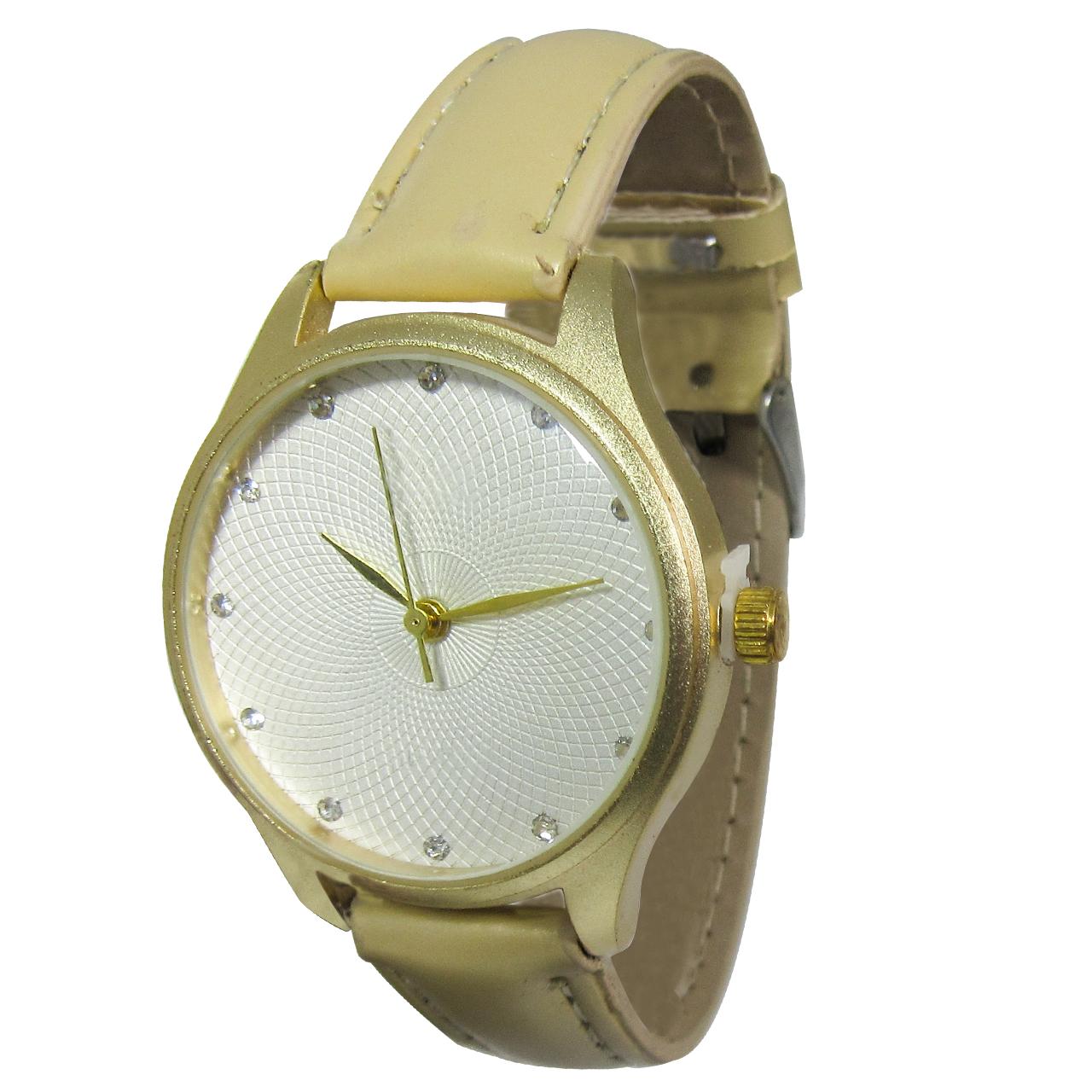 ساعت مچی عقربه ای زنانه مدل CK 231 Gold
