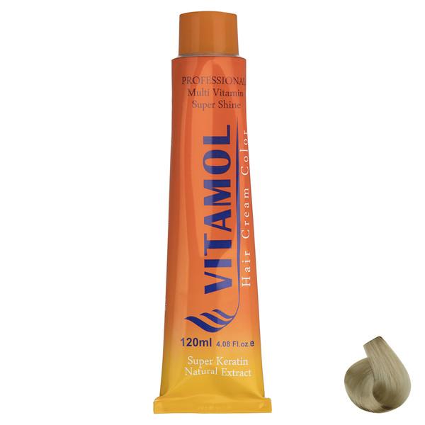 رنگ مو گیاهی ویتامول سری Highlight مدل Super Platinium Ash شماره 901