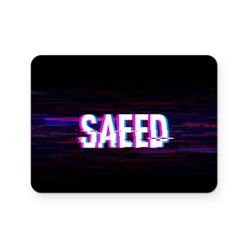 برچسب تاچ پد دسته پلی استیشن 4 ونسونی طرح SAEED