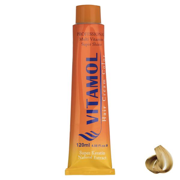 رنگ مو گیاهی ویتامول سری Golden مدل Extra Light Blonde شماره 10.5