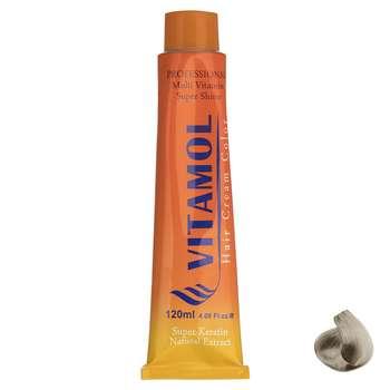 رنگ مو گیاهی ویتامول سری Smoky مدل Silver Blonde شماره 10.2