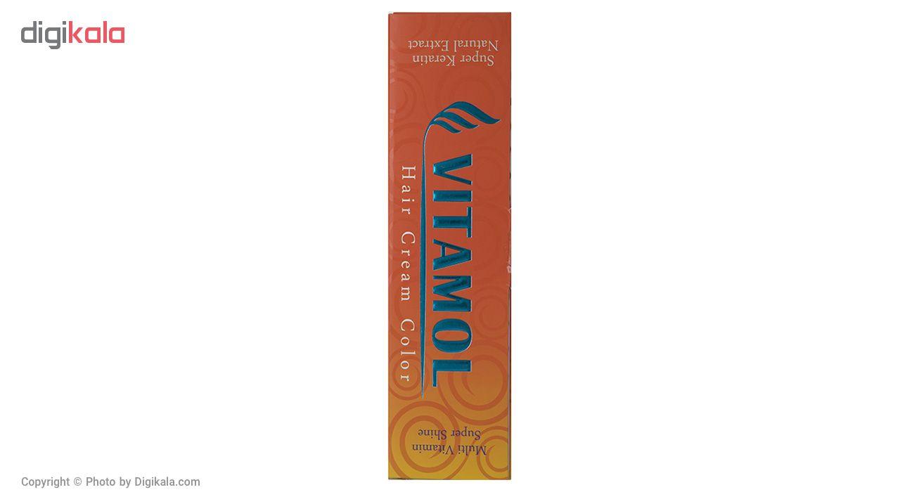 رنگ مو گیاهی ویتامول سری Honey مدل Honey  شماره 6.54