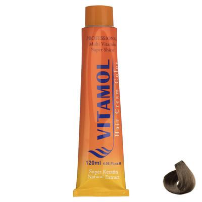 تصویر رنگ مو گیاهی ویتامول سری Tabacco مدل Medium Blonde شماره 7.65