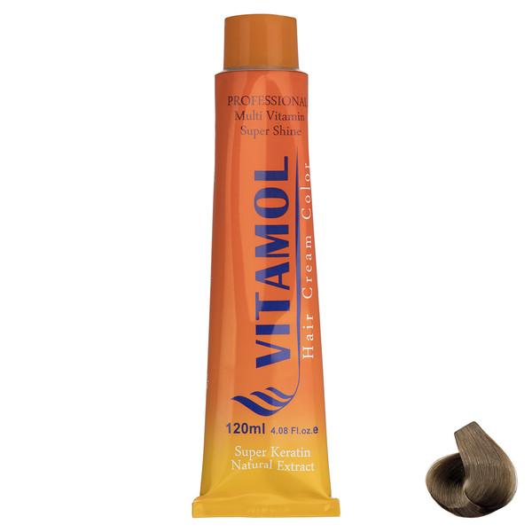 رنگ مو گیاهی ویتامول سری Honey مدل Medium Honey شماره 7.54