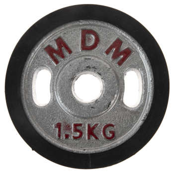 وزنه دمبل ام دی ام وزن 1.5 کیلوگرم بسته 2 عددی