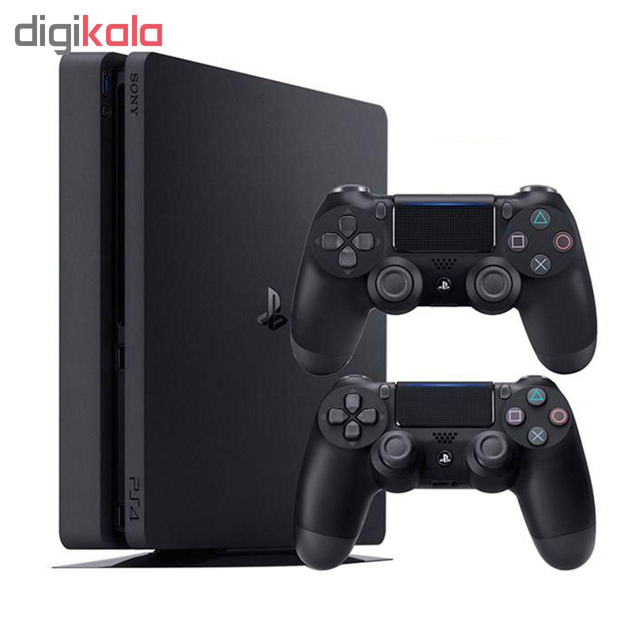 کنسول بازی سونی مدل Playstation 4 Slim کد Region 2 CUH-2216A - ظرفیت 500 گیگابایت