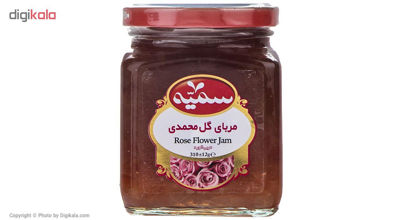 مربا گل محمدی سمیه - 310 گرم