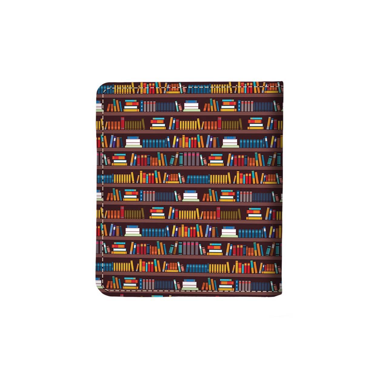 دفتر یادداشت ترمه گرافیک طرح کتابخانه 1