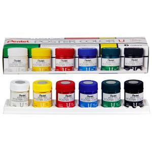 گواش 6 رنگ پنتل مدل WPU2-6D