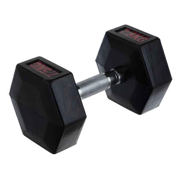 دمبل ام دی ام مدل شش گوش 7.5 کیلوگرمی بسته 2 عددی سایز 7.5