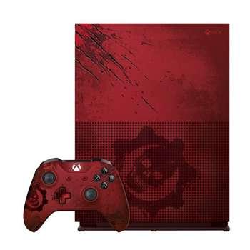 مجموعه کنسول بازی مایکروسافت مدل Xbox One S طرح Gears Of War 4 ظرفیت 2 ترابایت به همراه 50 عدد بازی | Microsoft Xbox One S - 2TB Bundle Game Console Gears Of War 4 Limited Edition - With 50 Games