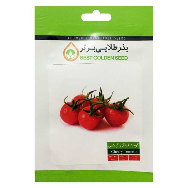 بذر گوجه گیلاسی قرمز بذر طلایی برتر کد BZT-77