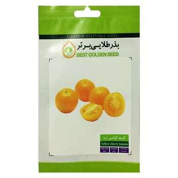 بذر گوجه گیلاسی زرد بذر طلایی برتر کد BZT-78