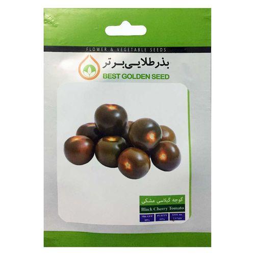 بذر گوجه گیلاسی مشکی بذر طلایی برتر کد BZT-79