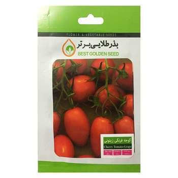 بذر گوجه فرنگی زیتونی بذر طلایی برتر کد BZT-80