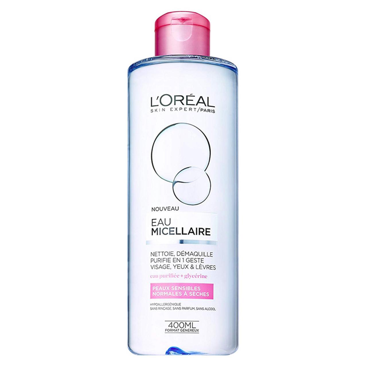 محلول پاک کننده لورآل مدل Normal to Dry Skin حجم 400 میلی لیتر