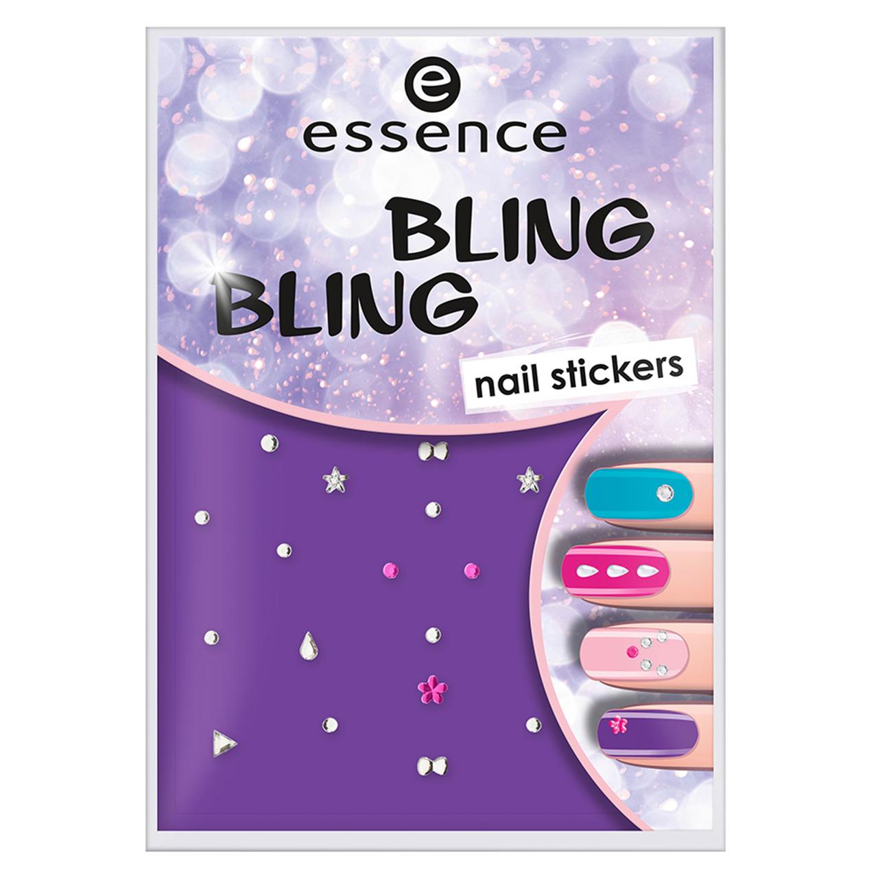 استیکر طراحی ناخن اسنس مدل Bling Bling شماره 01