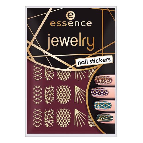 استیکر طراحی ناخن اسنس مدل Jewelry شماره 09