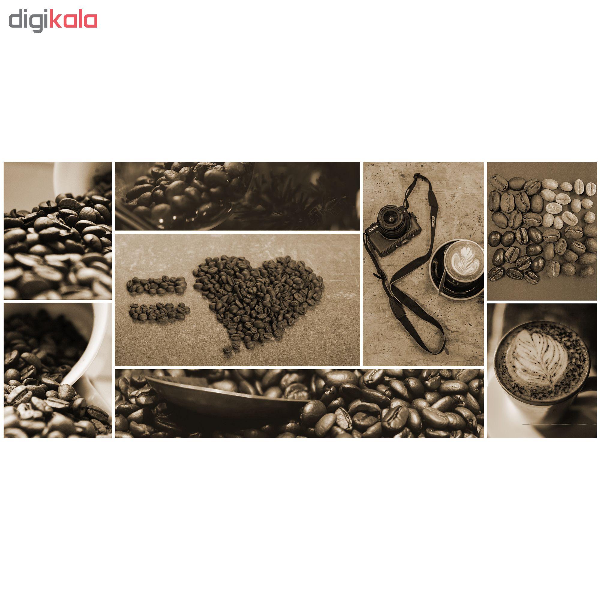 ماگ طرح قهوه 345 بسته 2 عددی