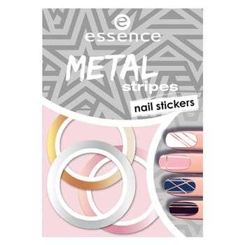استیکر طراحی ناخن اسنس مدل Metal Stripes شماره 04