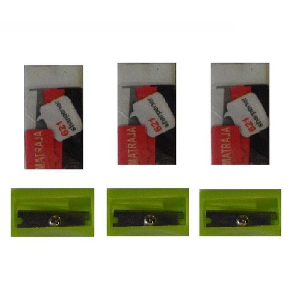 تراش و پاکن مدل ماتراجا مجموعه 6 عددی