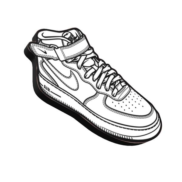 مگنت مدل Shoe03