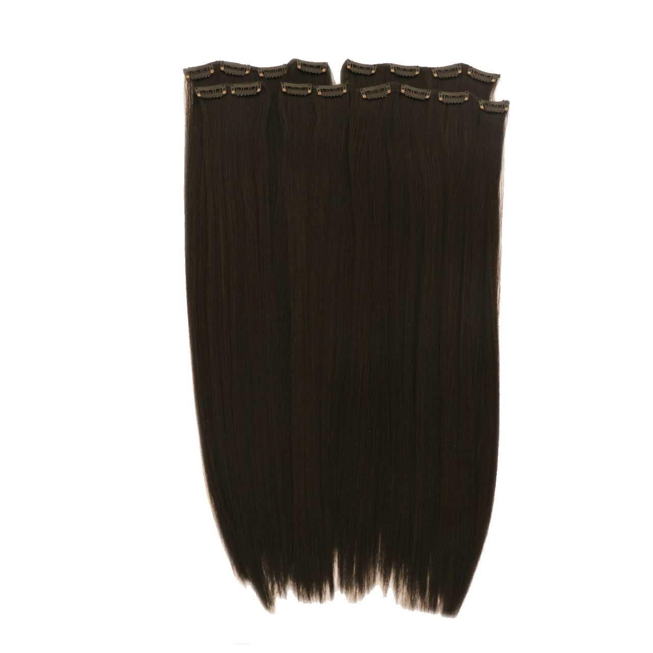 قیمت اکستنشن گیره دار مدل پوش رنگ موی طبیعی 3041c-2