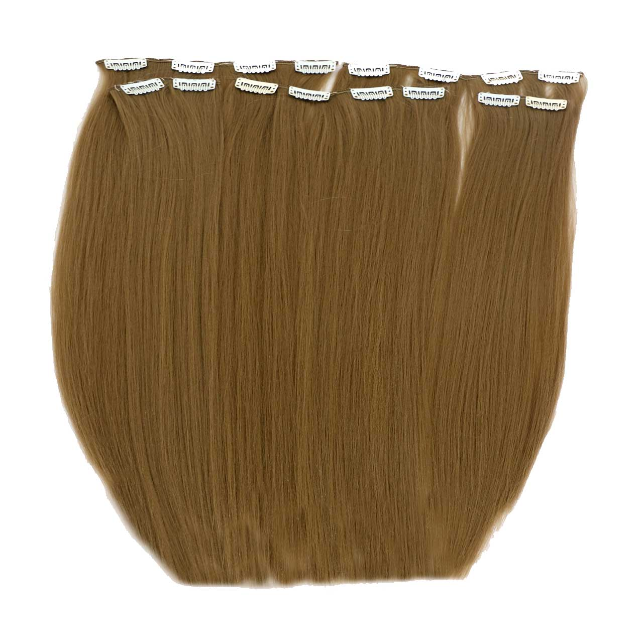 اکستنشن متحرک مو پوش دار رنگ عسلی روشن مدل 3041c-18t
