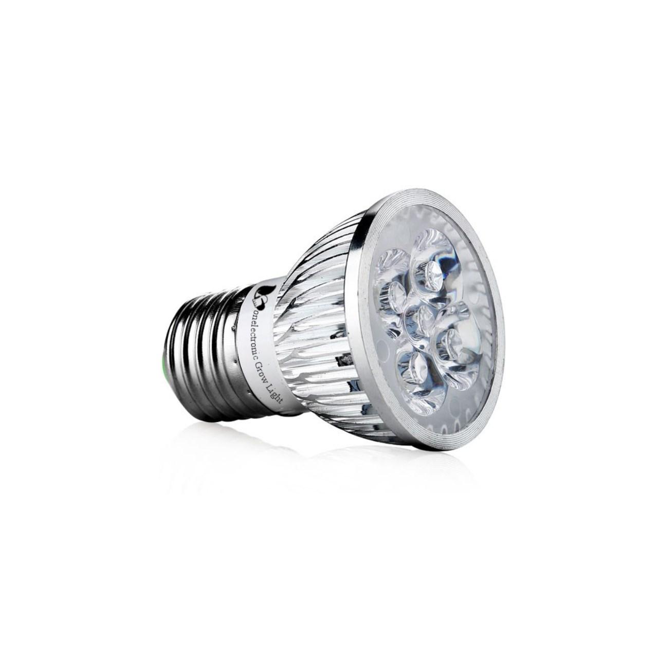 لامپ ال ای دی رشد گیاه 5 وات برند وان الکترونیک مدل F5 پایه E27