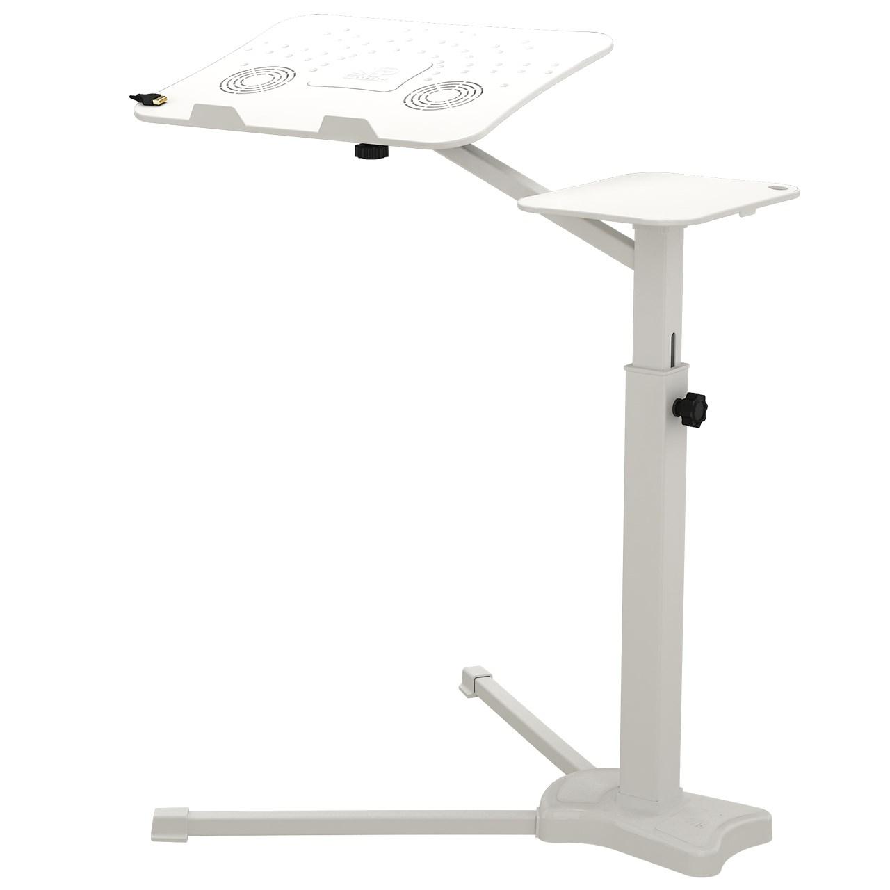 میز لپ تاپ پروتیبل مدل کول پد فن دار