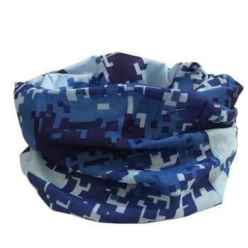دستمال سر و گردن مدل Blue