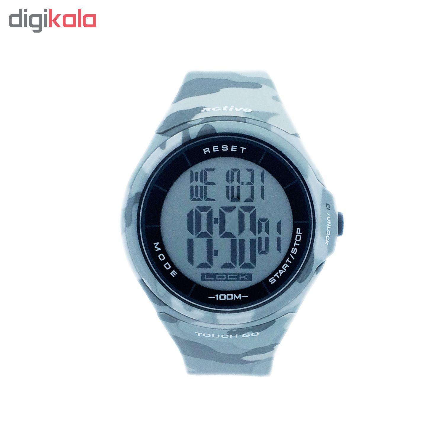 ساعت مچی دیجیتال مردانه اکتیو مدل  YP11528B