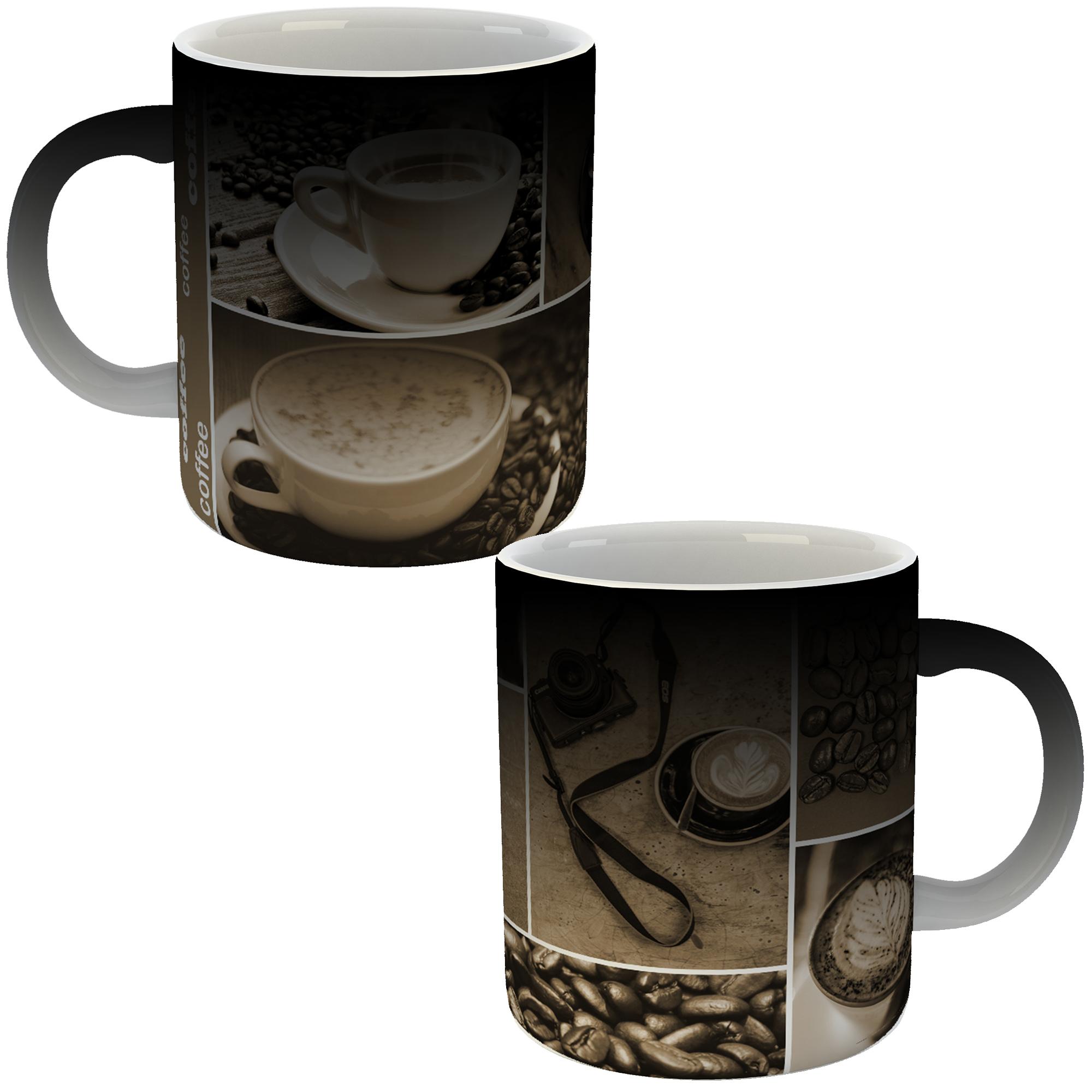 ماگ حرارتی طرح قهوه 345 بسته 2 عددی
