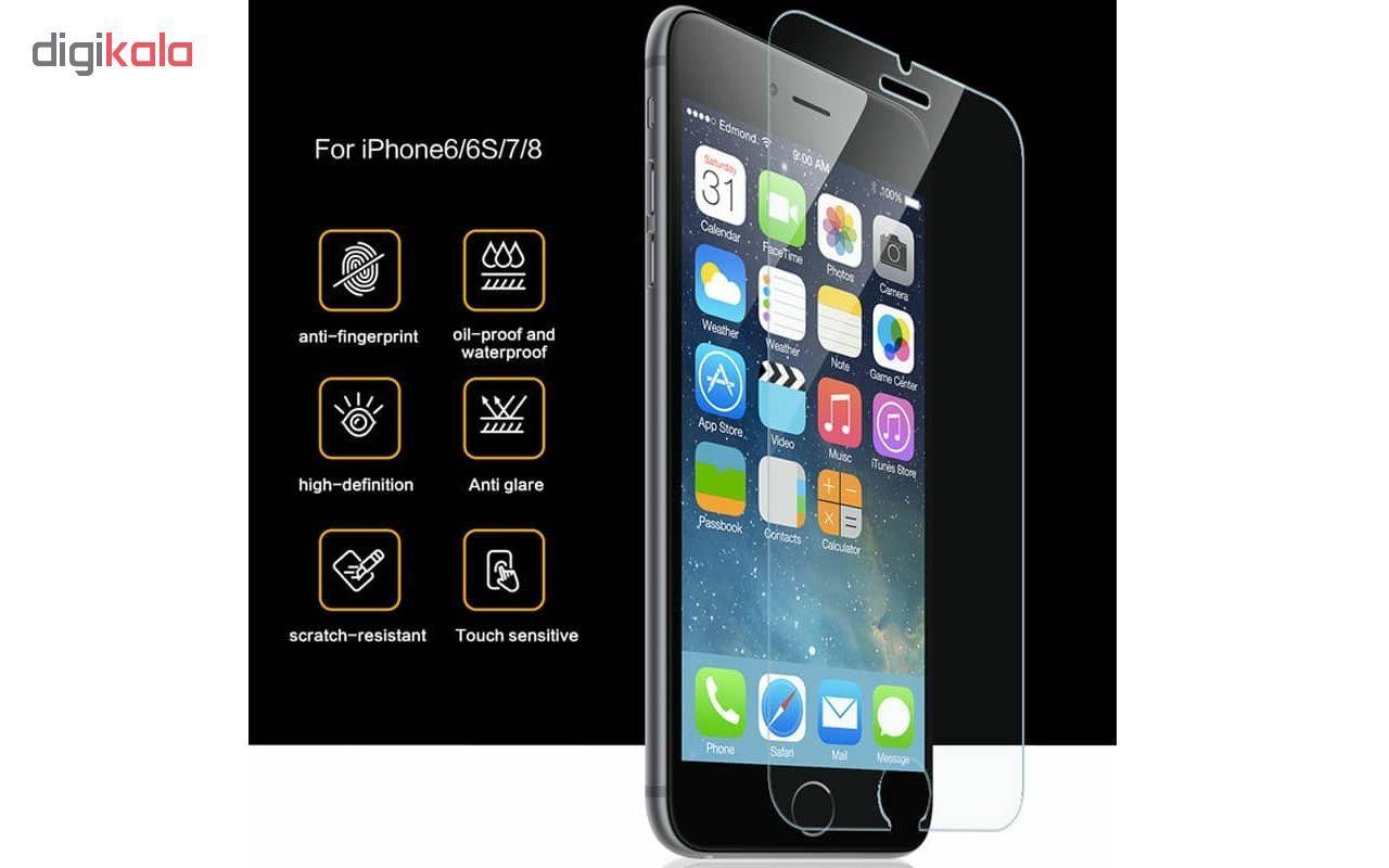 محافظ صفحه نمایش مدل 02C-302 مناسب برای گوشی موبایل اپل iPhone 6/6S/7/8 main 1 2
