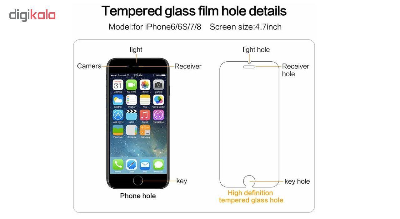 محافظ صفحه نمایش مدل 02C-302 مناسب برای گوشی موبایل اپل iPhone 6/6S/7/8 main 1 5