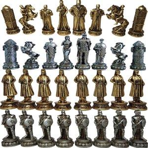 مهره شطرنج مدل E05 مجموعه 32 عددی