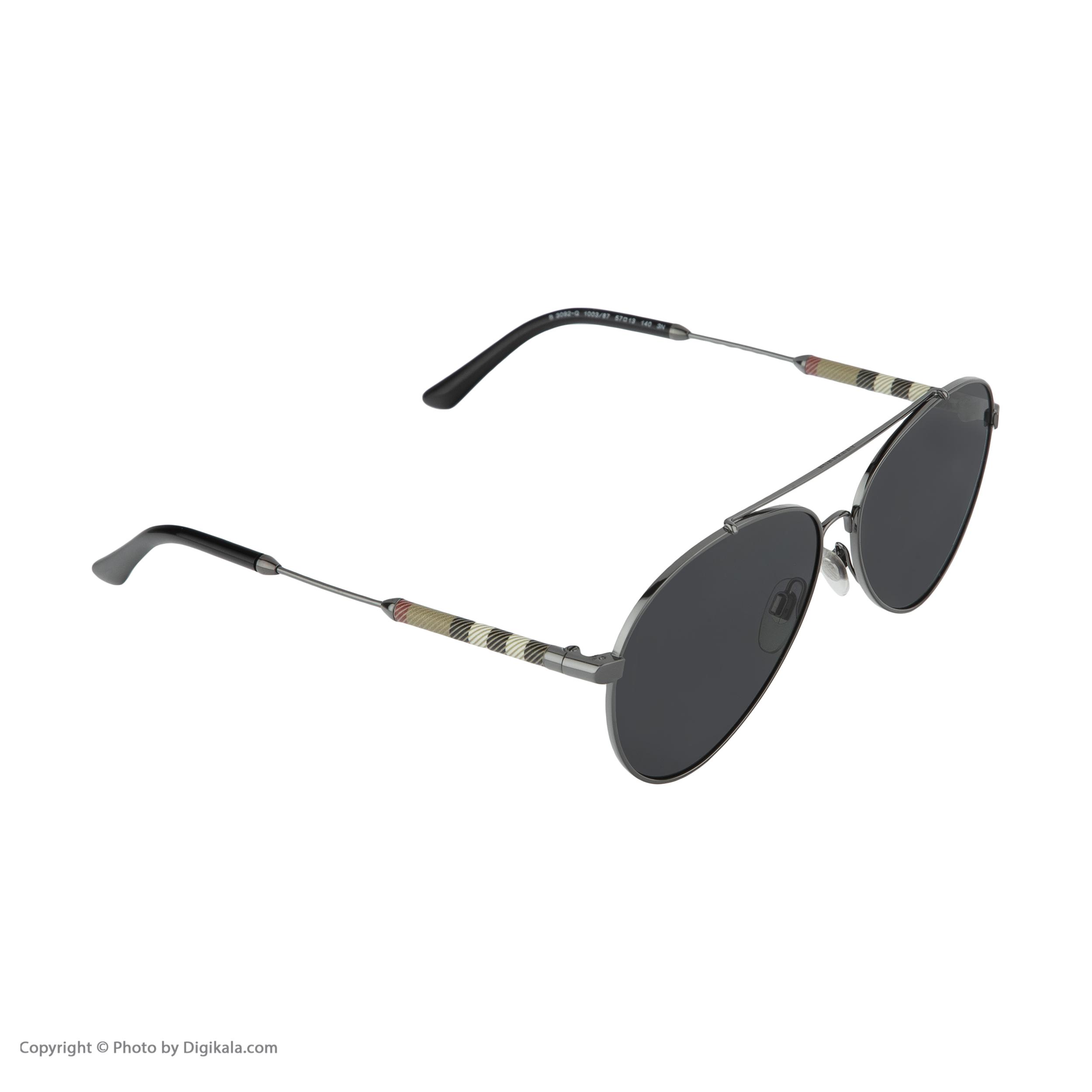 عینک آفتابی زنانه بربری مدل BE 3092Q 100387 57 -  - 4