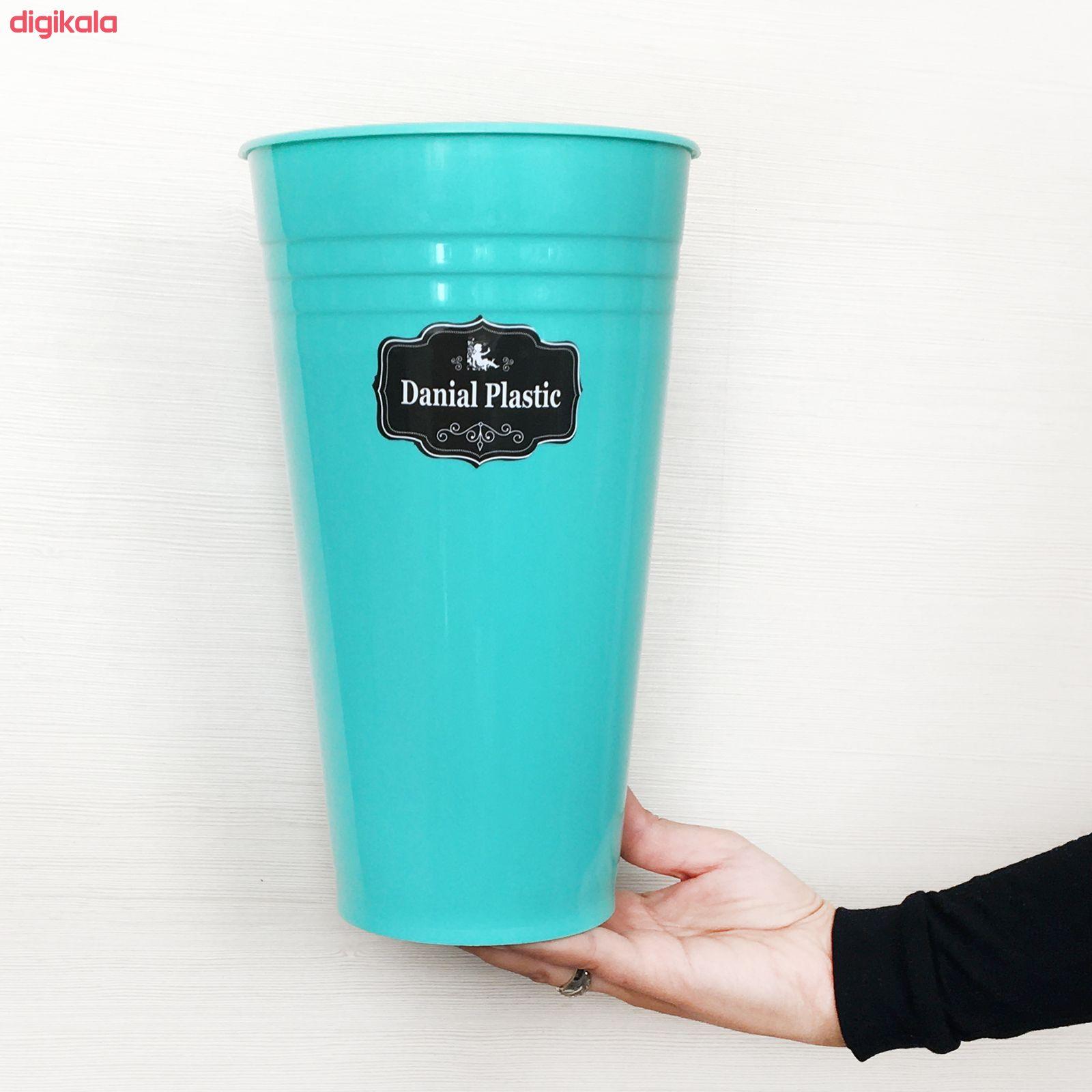 گلدان دانیال پلاستیک مدل 270 main 1 2